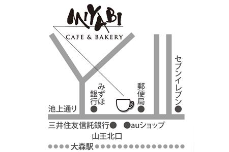 CAFE&BAKERY MIYABI 大森店店舗地図ご案内